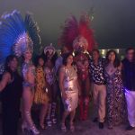 Samba Dancers with costume