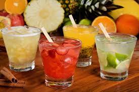 Caipirinha different fruits