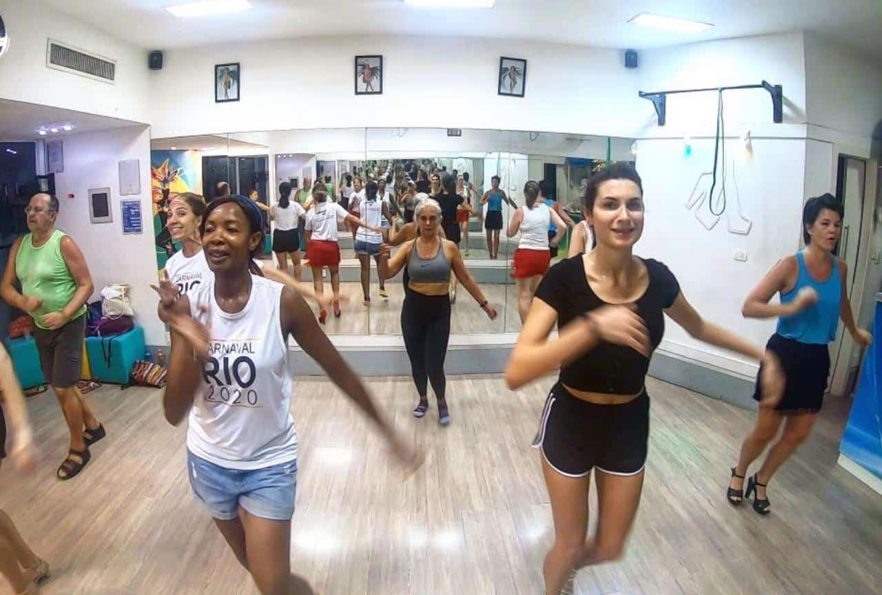 Rio Samba Fitness class